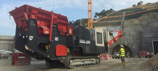 Sandvik essential equipment on major Hong Kong infrastructure