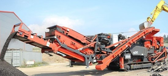 Sandvik QI341 Mobile impact crusher