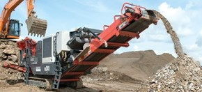 Sandvik QJ241 Recycling demolition material