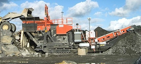 Sandvik UJ540 extra heavy duty jaw crusher