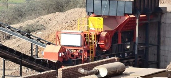 Sandvik UJ210 Wheeled jaw crusher