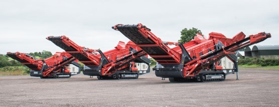 Sandvik Mobile scalper series