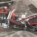 Sandvik UH430E Wheeled cone crusher