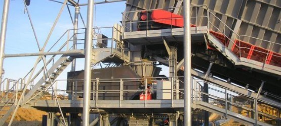 Sandvik CR810 Roll crusher