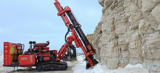 Sandvik DR560 High-Pressure Down-The-Hole (DTH) Drill
