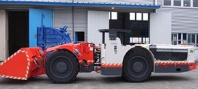 Sandvik LS190 Flameproof underground utility vehicle