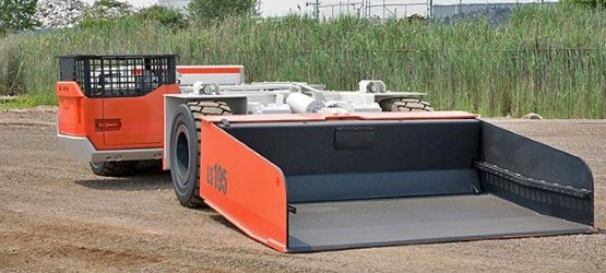 Sandvik LS195 Flameproof underground utility vehicle