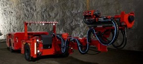 Sandvik DS211-LV Development Drill Rig