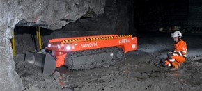 Sandvik LZ101LE Extra Low Profile Drill Rig