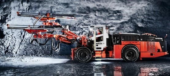 Sandvik DD422iE Development Drill Rig