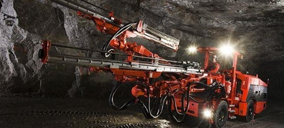 Underground Drill Rigs & Bolting Machines — Sandvik Mining and Rock
