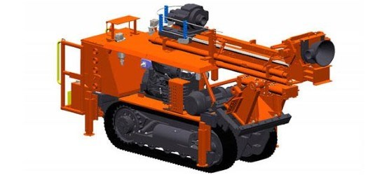 Sandvik DU211-T ITH (In The Hole) Drill Rig For Underground