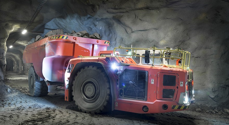 Sandvik TH633i trucks are safer, efficient and easy to maintain with low cost per ton
