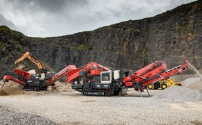 Sandvik QJ341 and QS331 at Hillhead in the UK