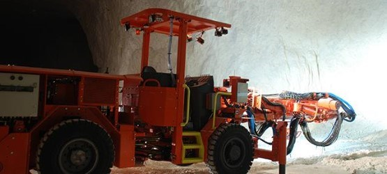 Sandvik DB331 secondary breaking drill rig