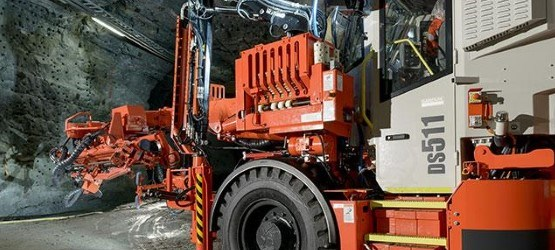 Sandvik DS511 rock support drill rig