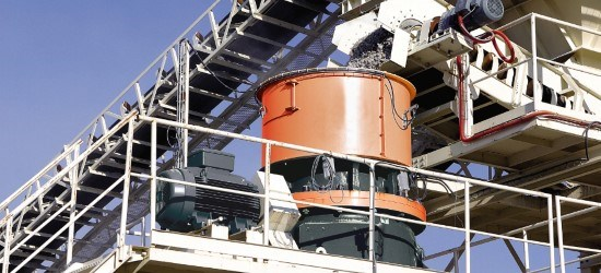Sandvik CH440 Cone Crusher With A Robust Crusher Design — Sandvik