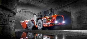 Sandvik LH517i advanced underground LHD