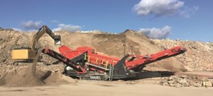 Sandvik QE342 Mobile scalper