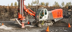 Sandvik DI560 Down-the-hole drill rig