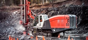 Sandvik DI450 Down the hole drill rig