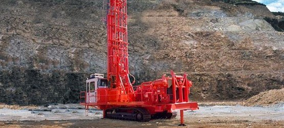 D25KS Rotary blasthole drill rig — Sandvik Mining and Rock