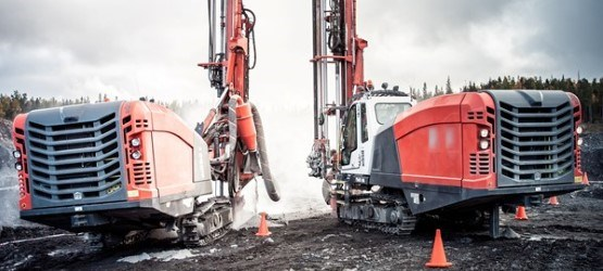 Sandvik surface down the hole drill rigs