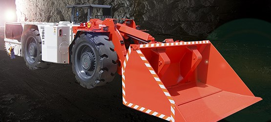 Sandvik LS190S Flameproof underground utility vehicle