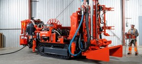 Sandvik DU311-T tracked ITH production drill rig