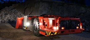 Sandvik Low profile underground loaders