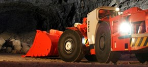 Sandvik LH410 advanced underground loader