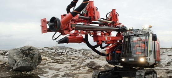 Ranger DX500 Surface tophammer drill rig