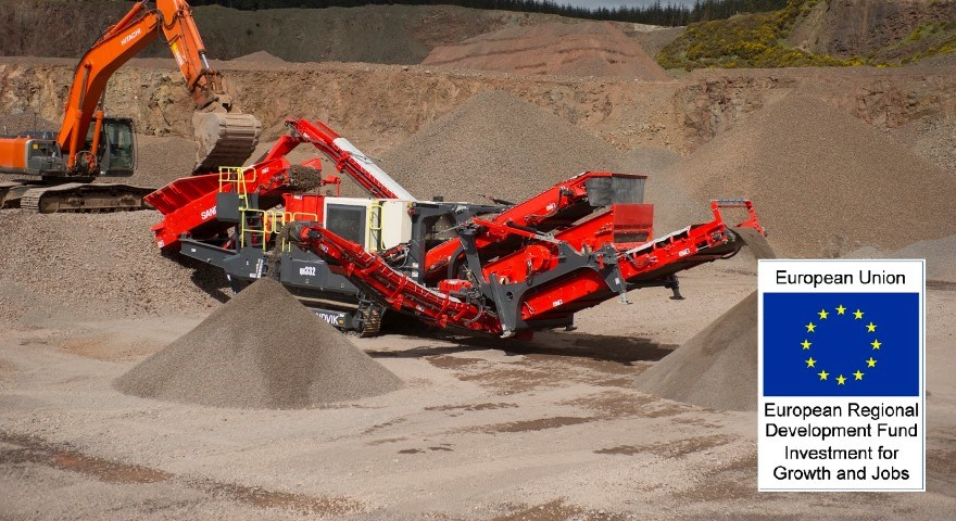 Sandvik QH332 DDHS mobile cone crusher