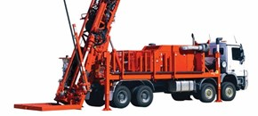 Sandvik DE881 Multi-purpose exploration drill rig