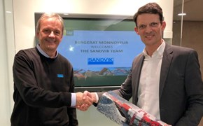 Norbert Lentschig and Alexis Machenaud in BM Agreement