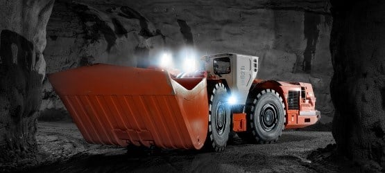 Sandvik LH621i advanced underground loader