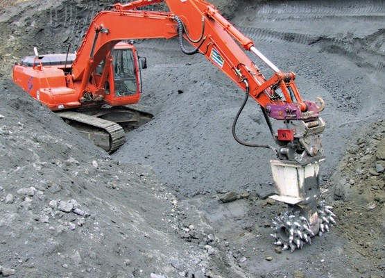 Sandvik MA520 cutting attachment