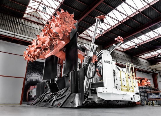 Sandvik mechanical cutting equipment