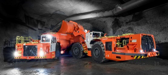 Sandvik Underground loaders and trucks
