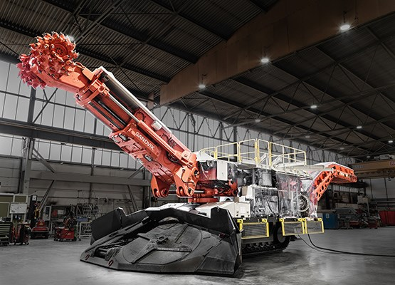 Sandvik Roadheaders for tunneling