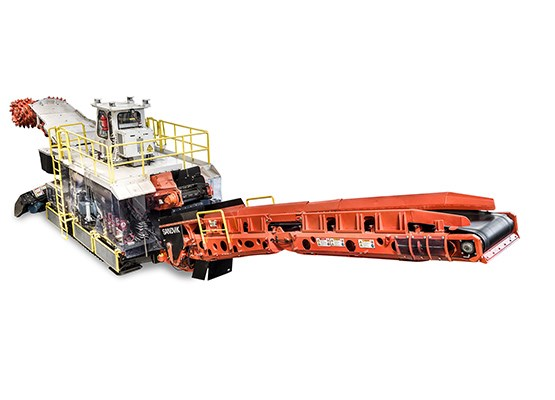 Sandvik MT720 Roadheader for tunneling