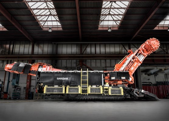 Sandvik MH621 roadheader for tunneling