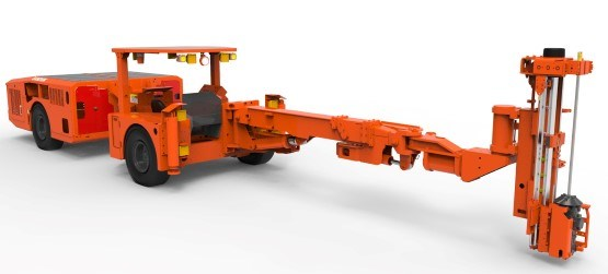 Sandvik DS211L-V rock support drill rig