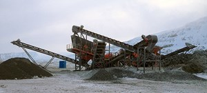 Sandvik US316 Wheeled unit