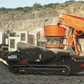 Sandvik Mobile cone crusher in quarry application