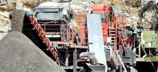 Sandvik UH640 Extra Heavy duty cone crusher