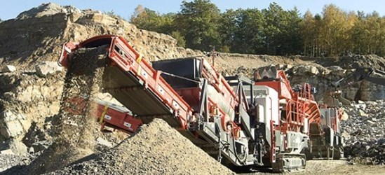 Sandvik US440i Heavy duty cone crusher