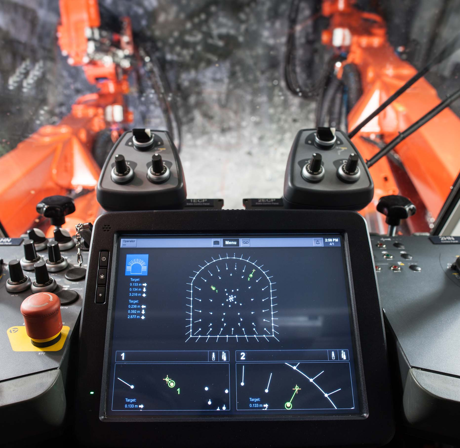 Tcad System Provides Advancing Drilling Accuracy And Blast Economy Sandvik Mining And Rock Technology