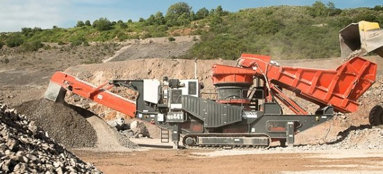 "Sandvik QS441 Mobile ""S"" cone crusher"